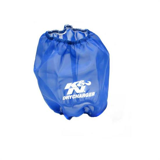 K&N RC-4900DL DryCharger Air Filter Wrap, 7.875in Tall, Blue