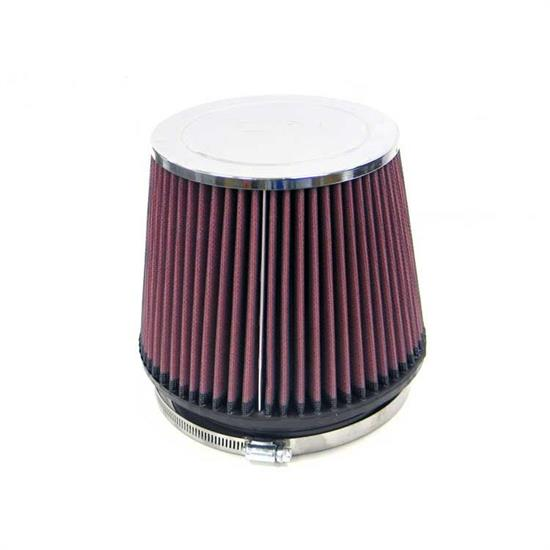 K&N RC-4940 Performance Air Filters, 6in Tall, Round Tapered