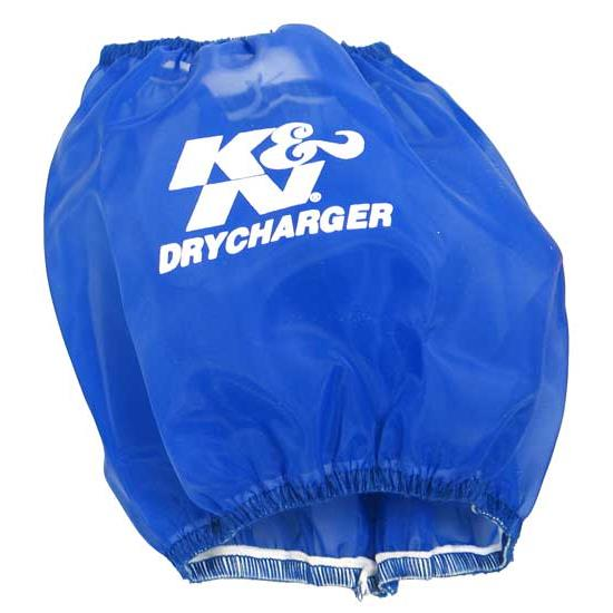 K&N RC-5040DL DryCharger Air Filter Wrap, 5.5in Tall, Blue