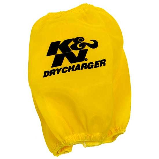 K&N RC-5040DY DryCharger Air Filter Wrap, 5.5in Tall, Yellow