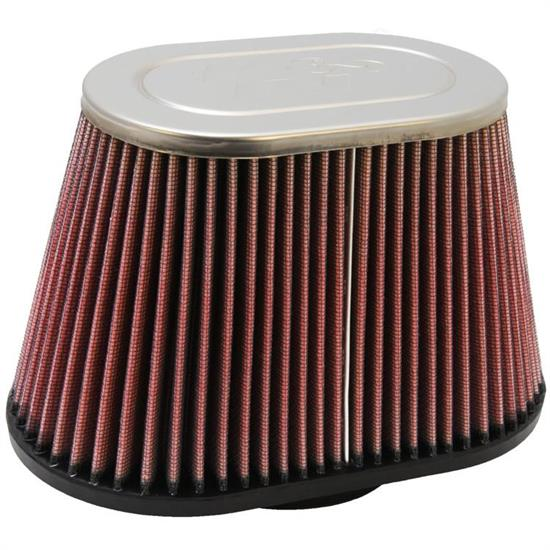 K&N RC-5040 Performance Air Filters, 5.5in Tall, Oval Straight