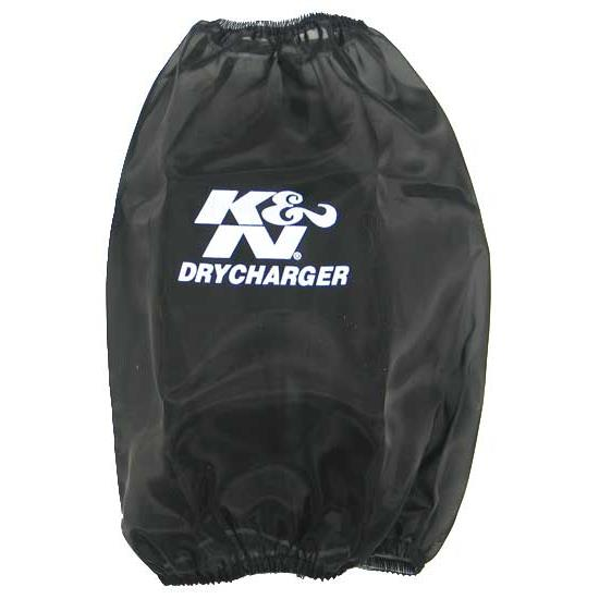 K&N RC-5046DK DryCharger Air Filter Wrap, 9in Tall, Black