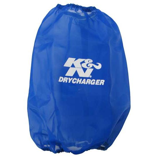 K&N RC-5046DL DryCharger Air Filter Wrap, 9in Tall, Blue