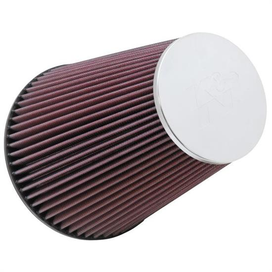 K&N RC-5046 Performance Air Filters, 9in Tall, Round Tapered