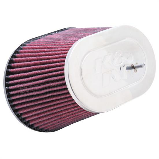 K&N RC-5047 Performance Air Filters, 5.125in Tall, Oval Straight
