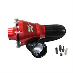 K&N RC-5052AR Apollo Universal Cold Air Intake Kit, Red Case