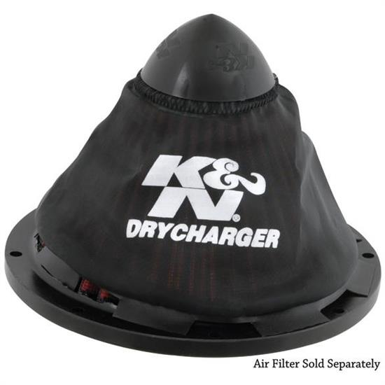K&N RC-5052DK DryCharger Air Filter Wrap, Polyester, Each