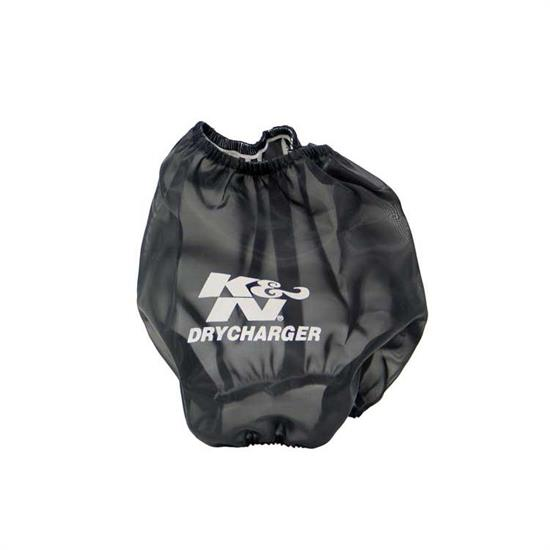K&N RC-5060DK DryCharger Air Filter Wrap, 6in Tall, Black