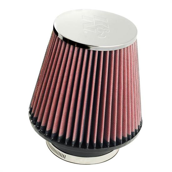 K&N RC-5060 Performance Air Filters, 6in Tall, Round Tapered