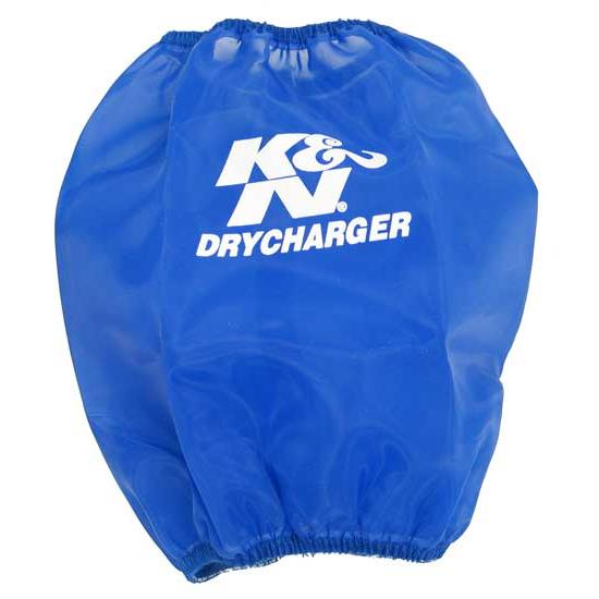 K&N RC-5100DL DryCharger Air Filter Wrap, 7in Tall, Blue