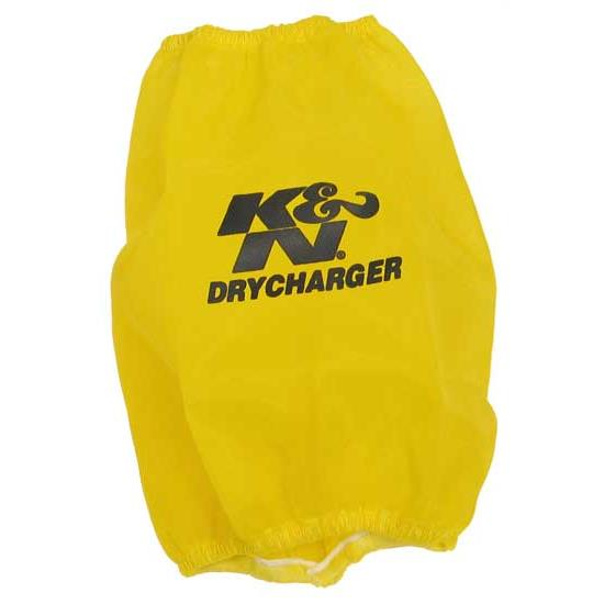 K&N RC-5100DY DryCharger Air Filter Wrap, 7in Tall, Yellow