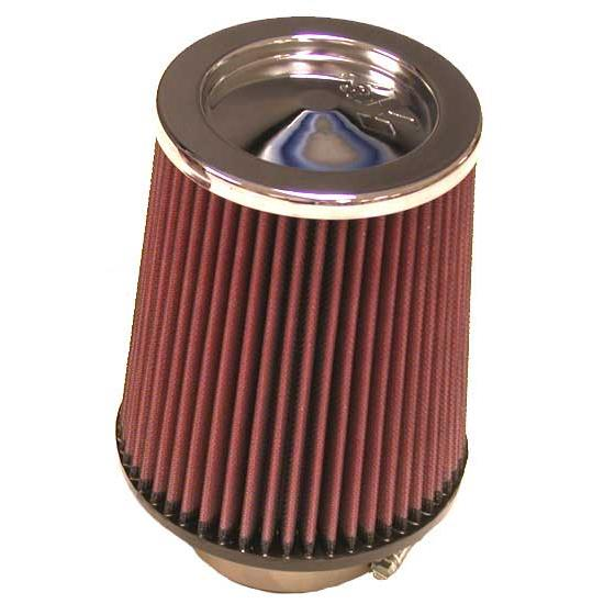 K&N RC-5100 Performance Air Filters, 7in Tall, Round Tapered