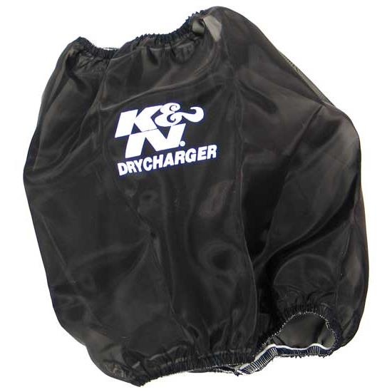 K&N RC-5102DK DryCharger Air Filter Wrap, 8.938in Tall, Black