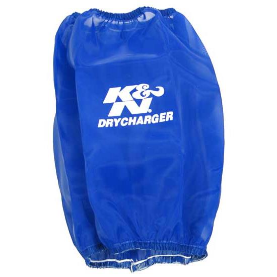 K&N RC-5102DL DryCharger Air Filter Wrap, 8.938in Tall, Blue