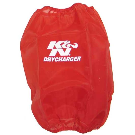 K&N RC-5102DR DryCharger Air Filter Wrap, 8.938in Tall, Red