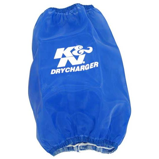K&N RC-5106DL DryCharger Air Filter Wrap, 8in Tall, Blue