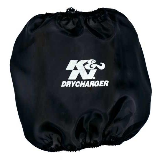 K&N RC-5112DK DryCharger Air Filter Wrap, 8in Tall, Black