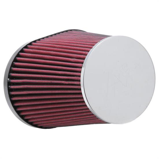 K&N RC-5126 Performance Air Filters, 8.063in Tall, Oval Straight