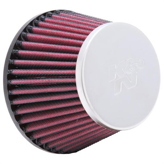 K&N RC-5127 Performance Air Filters, 3.188in Tall, Round Tapered