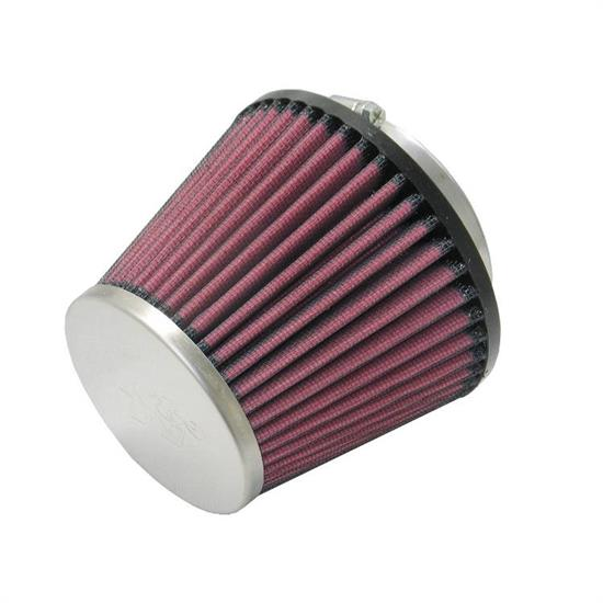 K&N RC-5128 Lifetime Performance Air Filter, 4in Tall, Round Tapered
