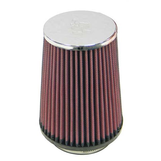 K&N RC-5136 Performance Air Filters, 5.875in Tall, Round Tapered