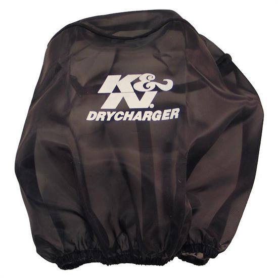 K&N RC-5139DK DryCharger Air Filter Wrap, 7.5in Tall, Black