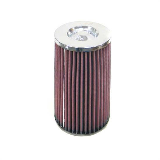 K&N RC-5144 Performance Air Filters, 7.875in Tall, Round Tapered