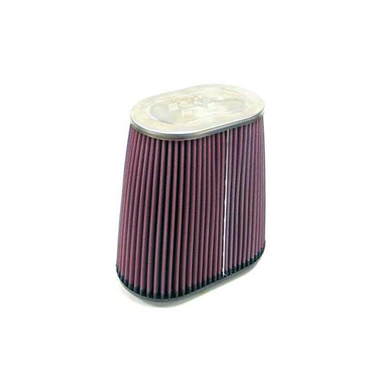 K&N RC-5145 Performance Air Filters, 9in Tall, Oval Straight