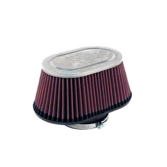 K&N RC-5148 Performance Air Filters, 4in Tall, Oval Straight