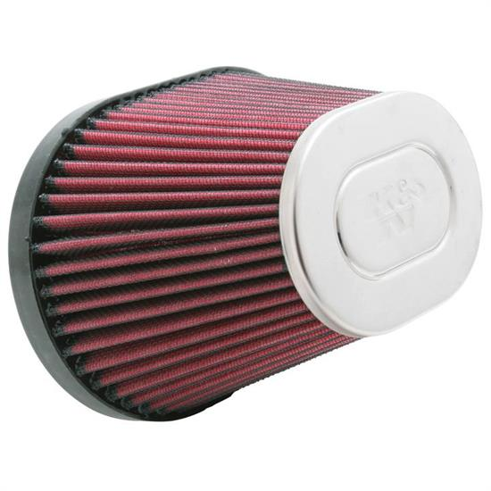 K&N RC-5152 Powersports Air Filter, 6.5in Tall, Oval Straight