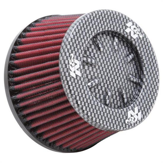 K&N RC-5153 Lifetime Performance Air Filter, 3.25 Tall, Round Tapered