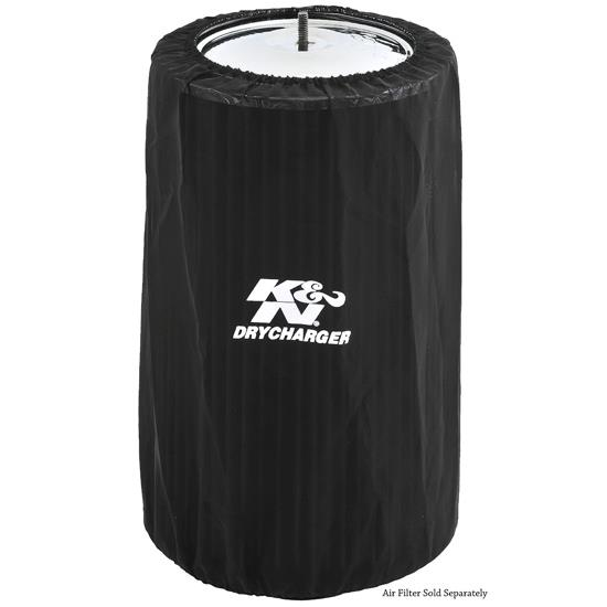 K&N RC-5165DK DryCharger Air Filter Wrap, 13in Tall, Black