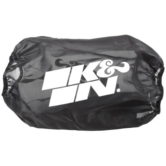 K&N RC-5166DK DryCharger Air Filter Wrap, 10.5in Tall, Black