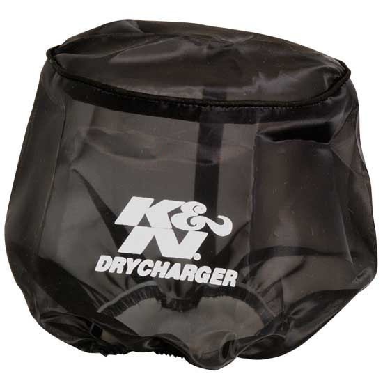 K&N RC-5173DK DryCharger Air Filter Wrap, 6in Tall, Black