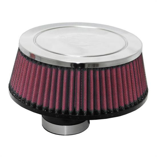 K&N RC-70018 Performance Air Filters, 2.563in Tall, Round Tapered