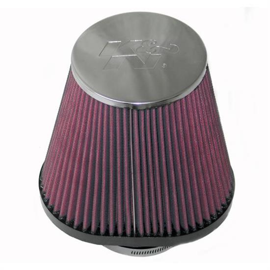 K&N RC-70030 Powersports Air Filter, 6.813in Tall, Oval Tapered