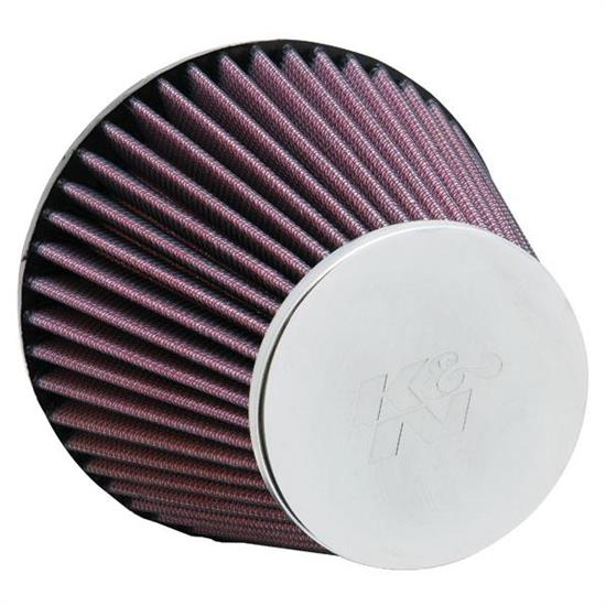 K&N RC-8000 Powersports Air Filter, 4.875in Tall, Round Tapered