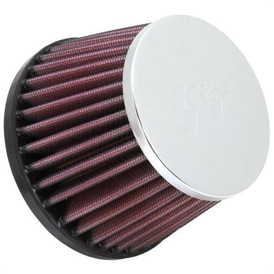 K&N RC-8100 Powersports Air Filter, 3.188in Tall, Round Tapered
