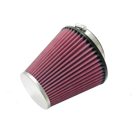 K&N RC-8110 Performance Air Filters, 5.438in Tall, Round Tapered