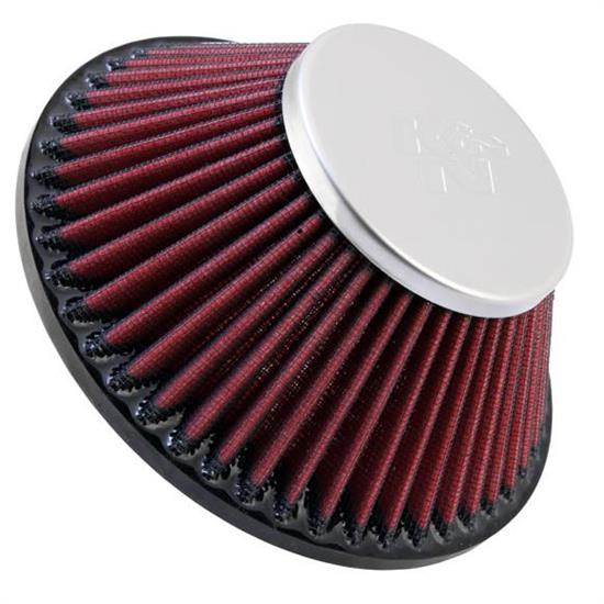 K&N RC-8180 Powersports Air Filter, 3.5in Tall, Round Tapered