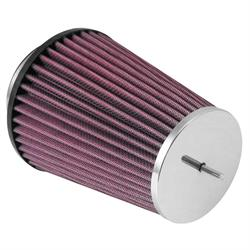 K&N RC-8250 Performance Air Filters, 6in Tall, Round Tapered