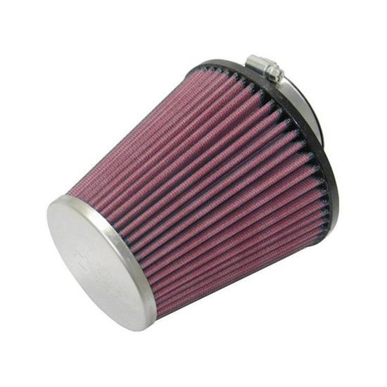 K&N RC-8280 Performance Air Filters, 5.125in Tall, Round Tapered