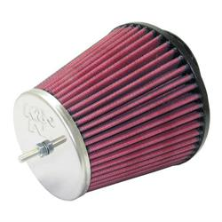 K&N RC-8320 Performance Air Filters, 4.563in Tall, Round Tapered