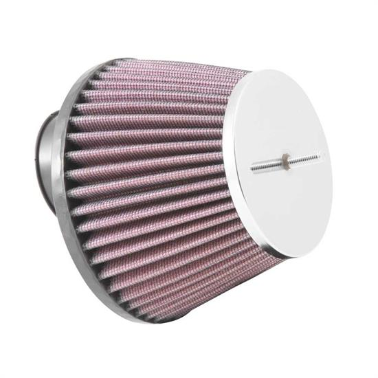 K&N RC-8350 Powersports Air Filter, 3.438in Tall, Round Tapered