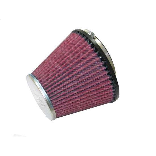 K&N RC-8370 Performance Air Filters, 5.469in Tall, Round Tapered