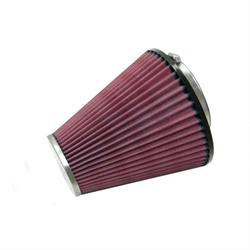 K&N RC-8450 Powersports Air Filter, 7in Tall, Round Tapered