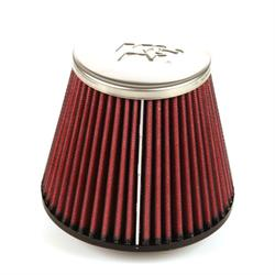 K&N RC-8490 Powersports Air Filter, 4.344in Tall, Round Tapered