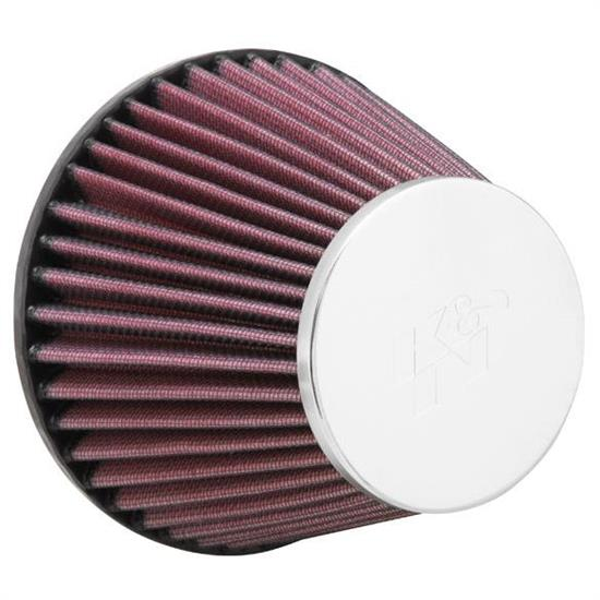K&N RC-9110 Performance Air Filters, 4.438in Tall, Round Tapered