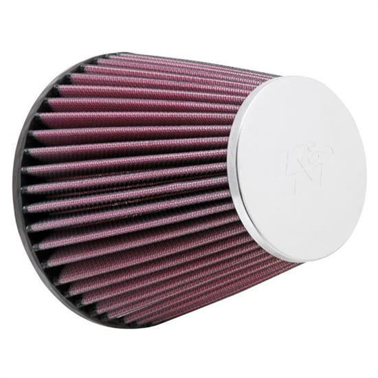 K&N RC-9120 Performance Air Filters, 5.438in Tall, Round Tapered