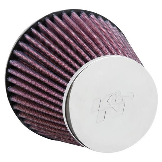 K&N RC-9210 Performance Air Filters, 5.188in Tall, Round Tapered